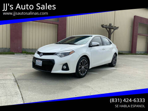 2014 Toyota Corolla for sale at JJ's Auto Sales in Salinas CA
