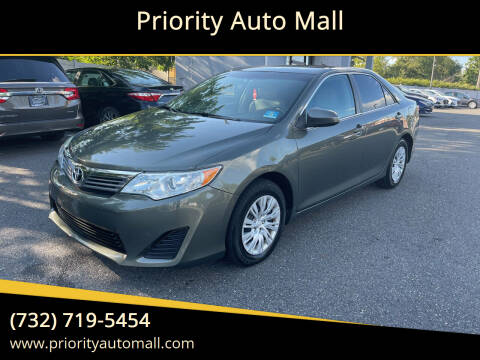 2013 Toyota Camry for sale at Mr. Minivans Auto Sales - Priority Auto Mall in Lakewood NJ