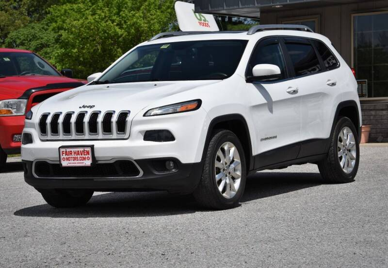2014 Jeep Cherokee for sale at Will's Fair Haven Motors in Fair Haven VT