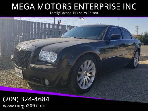 2007 Chrysler 300 for sale at MEGA MOTORS ENTERPRISE INC in Modesto CA
