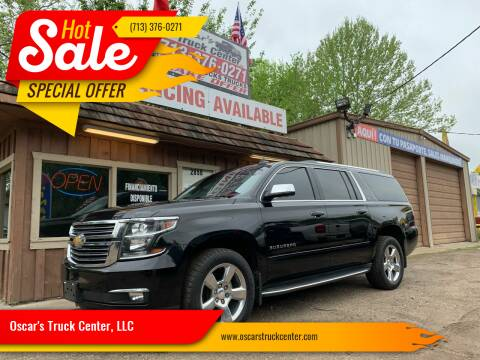 2016 Chevrolet Suburban for sale at Oscar's Truck Center, LLC in Houston TX