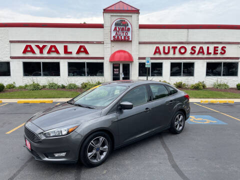 2018 Ford Focus for sale at Ayala Auto Sales in Aurora IL