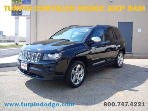 2014 Jeep Compass for sale at Turpin Dodge Chrysler Jeep Ram in Dubuque IA