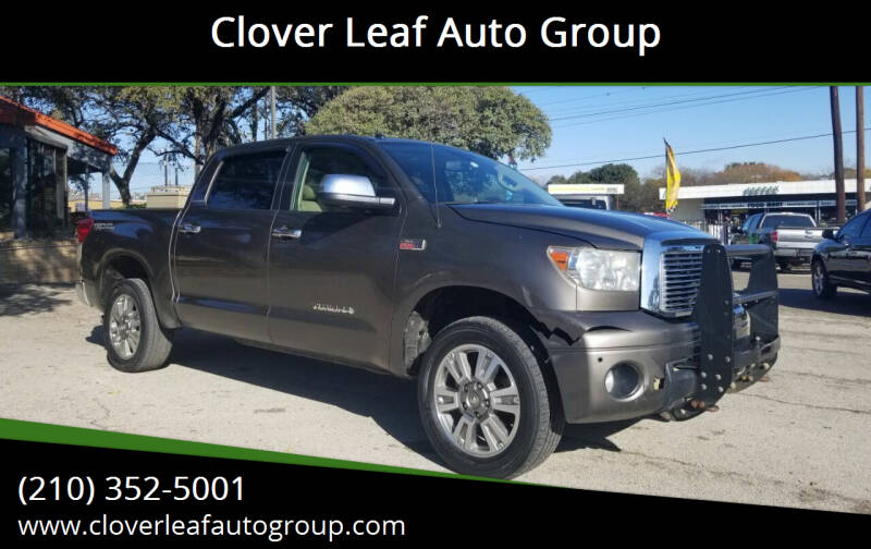 2011 Toyota Tundra for sale at Clover Leaf Auto Group in San Antonio TX