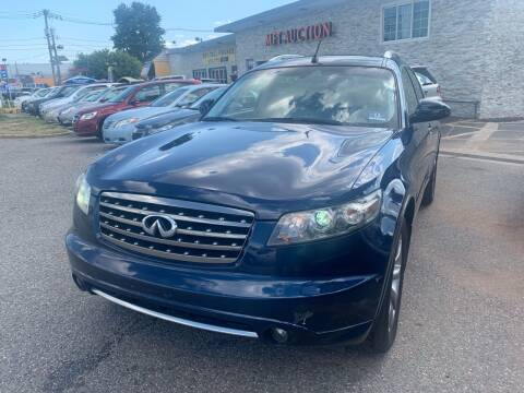 2006 Infiniti FX35 for sale at MFT Auction in Lodi NJ