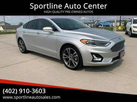 2019 Ford Fusion for sale at Sportline Auto Center in Columbus NE