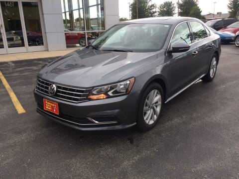 2018 Volkswagen Passat for sale at RABIDEAU'S AUTO MART in Green Bay WI