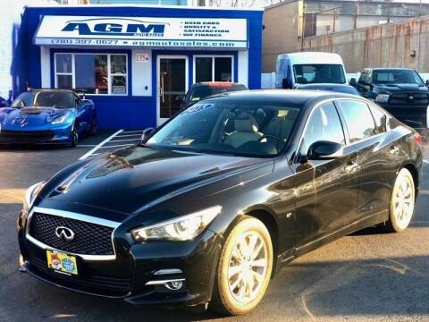 2015 Infiniti Q50 for sale at AGM AUTO SALES in Malden MA