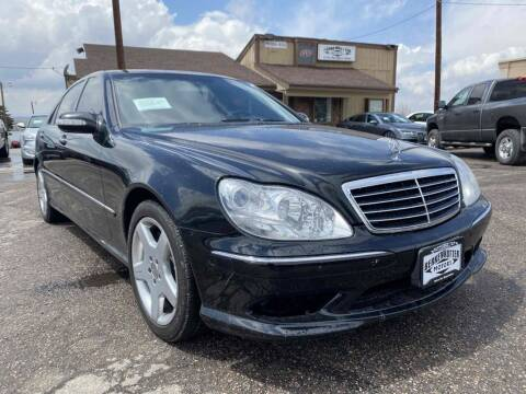 2006 Mercedes-Benz S-Class for sale at BERKENKOTTER MOTORS in Brighton CO