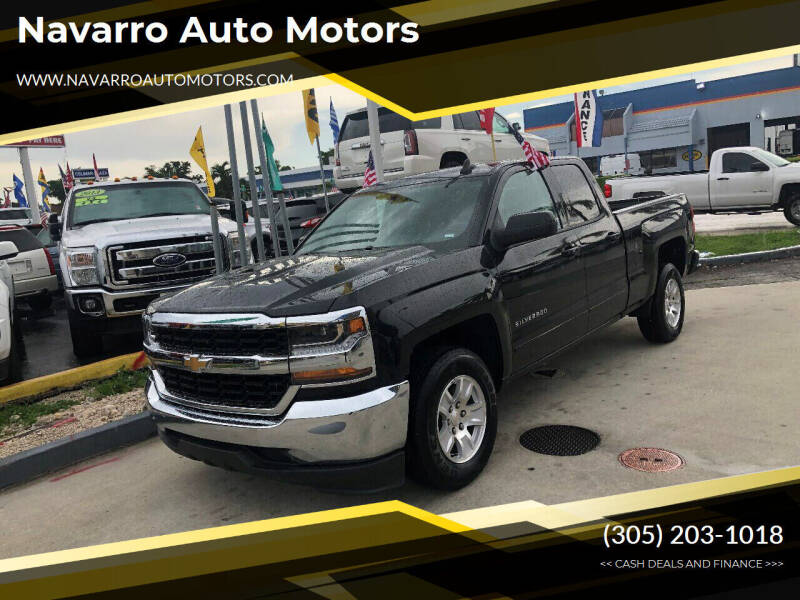 2019 Chevrolet Silverado 1500 LD for sale at Navarro Auto Motors in Hialeah FL