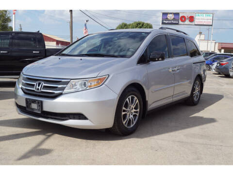 2013 Honda Odyssey for sale at Monthly Auto Sales in Fort Worth TX