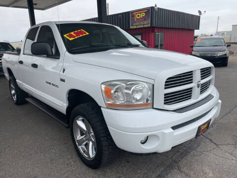 2006 Dodge Ram Pickup 1500 for sale at Top Line Auto Sales in Idaho Falls ID