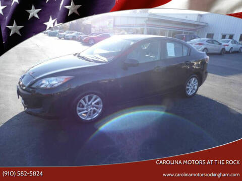 2012 Mazda MAZDA3 for sale at Carolina Motors at the Rock in Rockingham NC