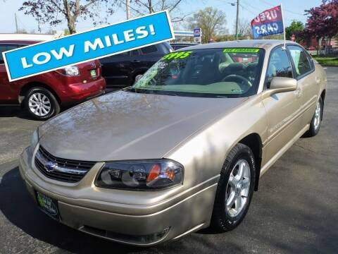 2004 Chevrolet Impala for sale at Oak Hill Auto Sales of Wooster, LLC in Wooster OH