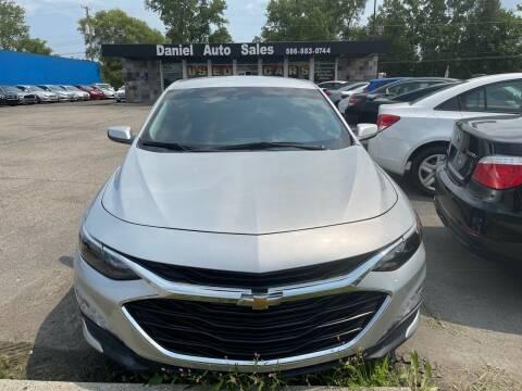 2020 Chevrolet Malibu for sale at Daniel Auto Sales inc in Clinton Township MI
