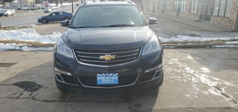 2017 Chevrolet Traverse for sale at Divine Auto Sales LLC in Omaha NE