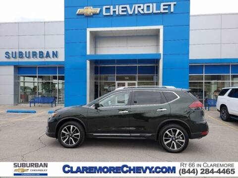 2019 Nissan Rogue for sale at Suburban Chevrolet in Claremore OK