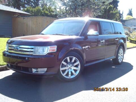 2009 Ford Flex for sale at Redline Auto Sales in Vancouver WA