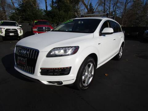 2015 Audi Q7 for sale at LULAY'S CAR CONNECTION in Salem OR