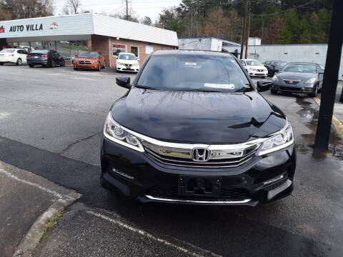 2017 Honda Accord for sale at Auto Villa in Danville VA