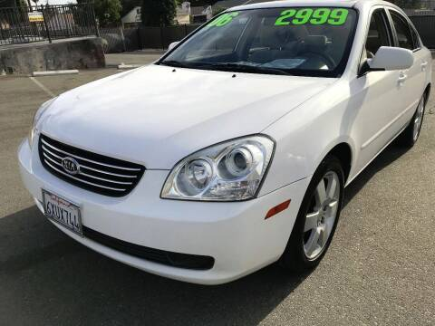 2006 Kia Optima for sale at Quality Car Sales in Whittier CA