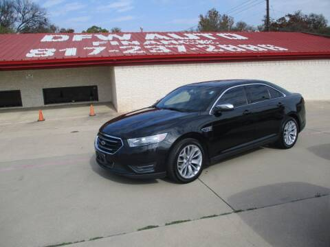 2013 Ford Taurus for sale at DFW Auto Leader in Lake Worth TX