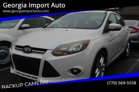 2013 Ford Focus for sale at Georgia Import Auto in Alpharetta GA