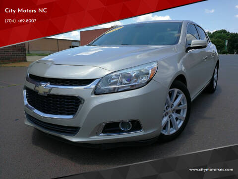 2015 Chevrolet Malibu for sale at City Motors NC in Charlotte NC