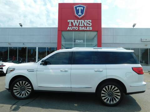 2018 Lincoln Navigator for sale at Twins Auto Sales Inc Redford 1 in Redford MI