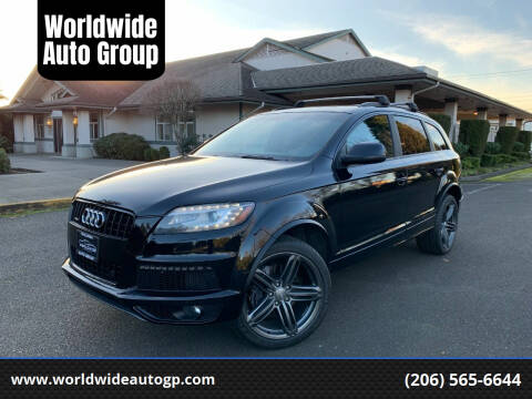 2013 Audi Q7 for sale at Worldwide Auto Group in Auburn WA