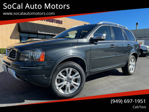 2014 Volvo XC90 for sale at SoCal Auto Motors in Costa Mesa CA
