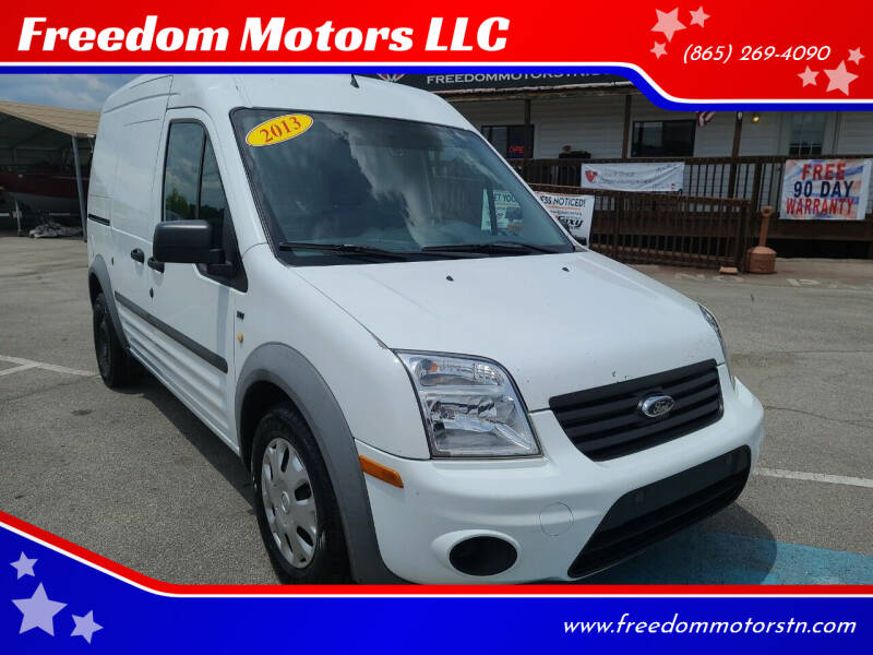 2013 Ford Transit Connect for sale at Freedom Motors LLC in Knoxville TN