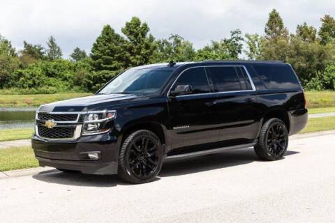 2016 Chevrolet Suburban for sale at Classic Car Deals in Cadillac MI