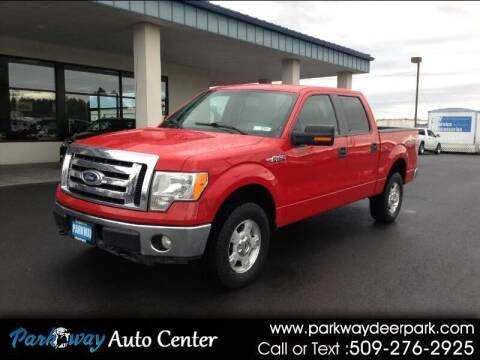 2010 Ford F-150 for sale at PARKWAY AUTO CENTER AND RV in Deer Park WA