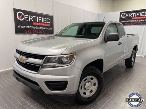 2017 Chevrolet Colorado for sale at CERTIFIED AUTOPLEX INC in Dallas TX