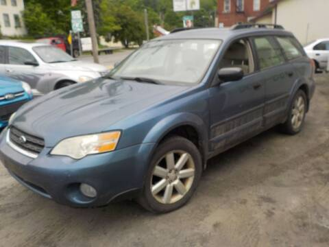 2006 Subaru Outback for sale at Green Mountain Auto Spa and Used Cars in Williamstown VT