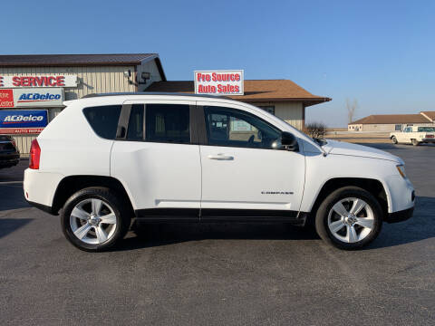2012 Jeep Compass for sale at Pro Source Auto Sales in Otterbein IN