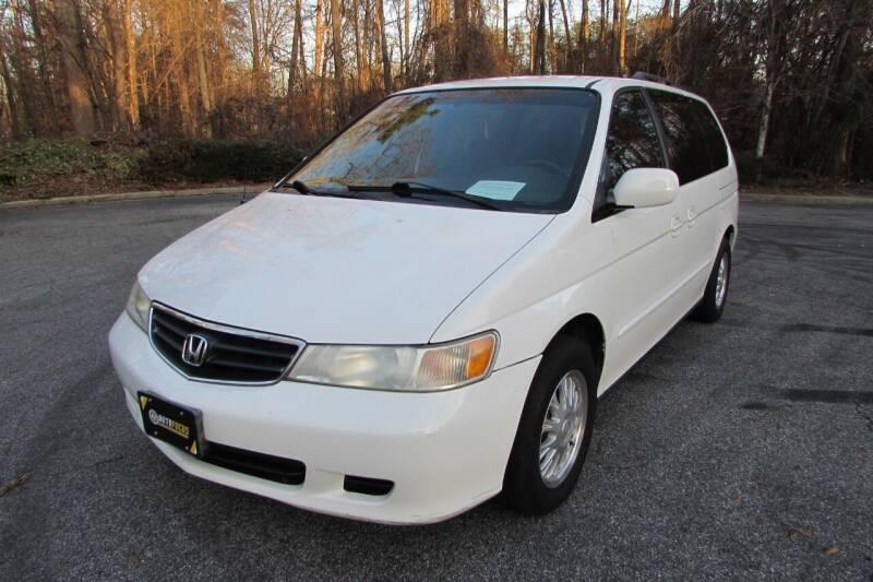 2002 Honda Odyssey for sale at AUTO FOCUS in Greensboro NC