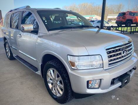2010 Infiniti QX56 for sale at GABBY'S AUTO SALES in Valparaiso IN