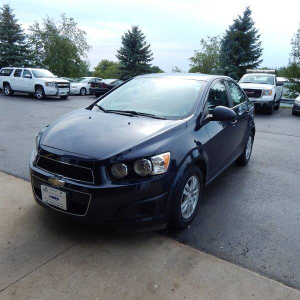 2016 Chevrolet Sonic for sale at TIM'S ALIGNMENT & AUTO SVC in Fond Du Lac WI