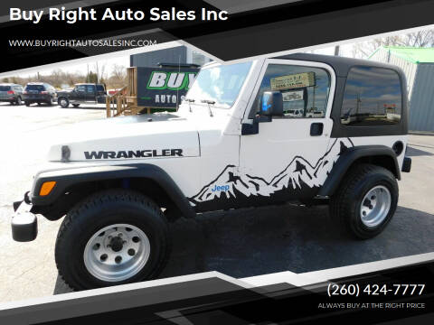 2006 Jeep Wrangler for sale at Buy Right Auto Sales Inc in Fort Wayne IN