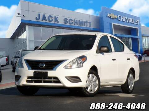 2015 Nissan Versa for sale at Jack Schmitt Chevrolet Wood River in Wood River IL