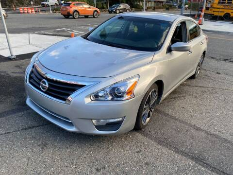 2013 Nissan Altima for sale at SNS AUTO SALES in Seattle WA