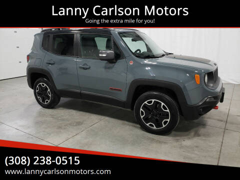 2015 Jeep Renegade for sale at Lanny Carlson Motors in Kearney NE
