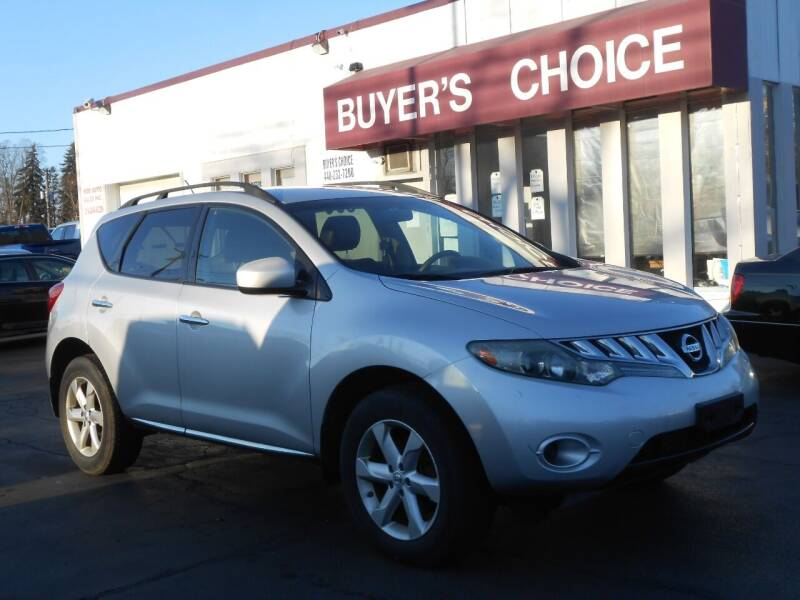 2009 Nissan Murano for sale at Buyers Choice Auto Sales in Bedford OH