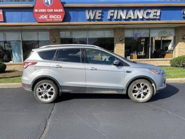 2016 Ford Escape for sale at JOE RICCI AUTOMOTIVE in Clinton Township MI