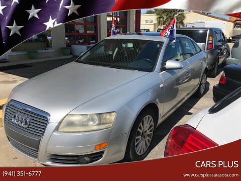 2006 Audi A6 for sale at Cars Plus in Sarasota FL