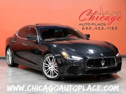 2014 Maserati Ghibli for sale at Chicago Auto Place in Bensenville IL