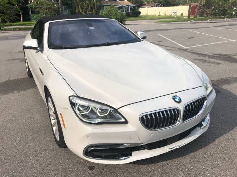 2016 BMW 6 Series for sale at Consumer Auto Credit in Tampa FL