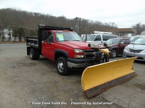 2006 Chevrolet Silverado 3500 for sale at Vans Vans Vans INC in Blauvelt NY
